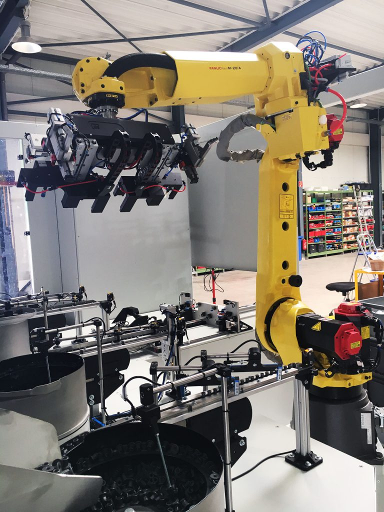 Roboter-Flex-Zellen