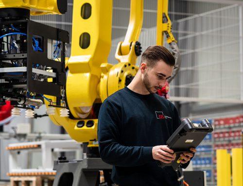 Automation von Werkzeugmaschinen