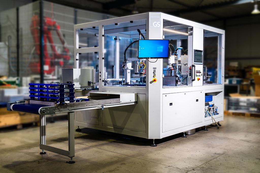 Roboter-Bearbeitungs-Zellen
